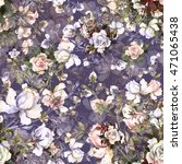 watercolor seamless pattern...   Shutterstock . vector #471065438