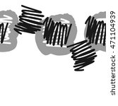 seamless  horizontal abstract...   Shutterstock . vector #471104939