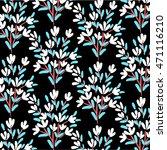 flower pattern | Shutterstock .eps vector #471116210