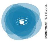 eye vector icon | Shutterstock .eps vector #471119216