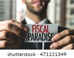 fiscal paradise | Shutterstock . vector #471121349