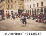 blurred town center in bath... | Shutterstock . vector #471135164
