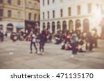 blurred town center in bath... | Shutterstock . vector #471135170