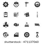 car service maintenance icons... | Shutterstock .eps vector #471137060