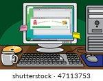 illegal download   Shutterstock .eps vector #47113753