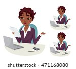 professional career powerful... | Shutterstock .eps vector #471168080