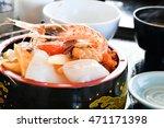 chirashi sushi   Shutterstock . vector #471171398