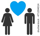 love persons icon. vector style ... | Shutterstock .eps vector #471204014