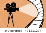 cinematography camera and... | Shutterstock .eps vector #471211274