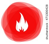 fire icon | Shutterstock .eps vector #471300428