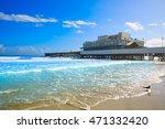 Daytona Beach In Florida With...