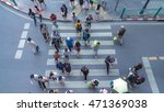 blur people walking in the... | Shutterstock . vector #471369038