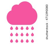 rain cloud icon. vector style... | Shutterstock .eps vector #471390080