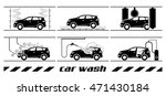 set of car washing icons.... | Shutterstock .eps vector #471430184