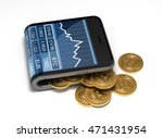 concept of virtual wallet and... | Shutterstock . vector #471431954