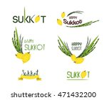 vector collection of labels and ... | Shutterstock .eps vector #471432200