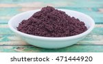 superfood dried acai berry... | Shutterstock . vector #471444920
