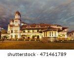 "lawang sewu  ""thousand doors"" ... | Shutterstock . vector #471461789"