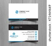 modern business card | Shutterstock .eps vector #471464669