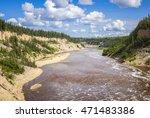 Hay River below Louise Falls, Northwest Territories, Canada