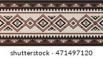 detailed maroon traditional... | Shutterstock .eps vector #471497120