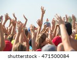 group of happy young people... | Shutterstock . vector #471500084