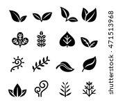 leaf  plant  herb   vegetation  ... | Shutterstock .eps vector #471513968