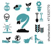 sprout icons set | Shutterstock .eps vector #471525770