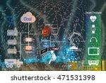 industry 4.0 and smart... | Shutterstock . vector #471531398