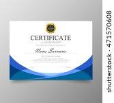 certificate template awards... | Shutterstock .eps vector #471570608