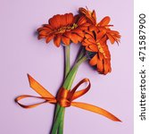 Bouquet Orange Gerber...