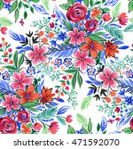 seamless floral pattern for... | Shutterstock . vector #471592070