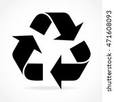 vector icon recycle sign for...   Shutterstock .eps vector #471608093