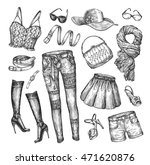 Fashion. Vector Collection Of...