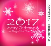 merry christmas and happy new... | Shutterstock .eps vector #471621230