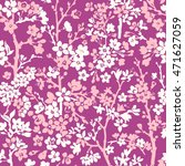 seamless floral pattern with... | Shutterstock .eps vector #471627059