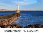 lighthouse in aberdeen  scotland   Shutterstock . vector #471627824