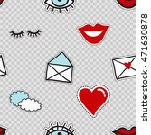 vector seamless pattern with... | Shutterstock .eps vector #471630878
