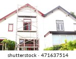 exterior renovation before and...   Shutterstock . vector #471637514