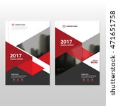 red triangle vector annual... | Shutterstock .eps vector #471651758