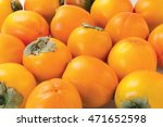 Persimmon Sweet Summer Fruit...