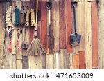 Agricultural Tools Hang On...