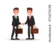 business relationship.... | Shutterstock .eps vector #471674138