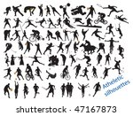 action packed sports. vector... | Shutterstock .eps vector #47167873