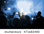 live music concert with... | Shutterstock . vector #471682400