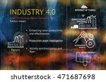 industrial 4.0 cyber physical... | Shutterstock . vector #471687698