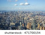 view towards uptown in... | Shutterstock . vector #471700154