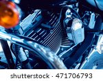 close up of engine motorcycle.... | Shutterstock . vector #471706793
