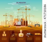 oil and gas industry... | Shutterstock .eps vector #471710186