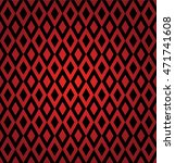 harlequin suit red and black... | Shutterstock .eps vector #471741608